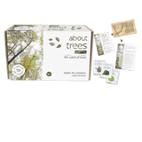 about trees nature kit, box with contents next to it