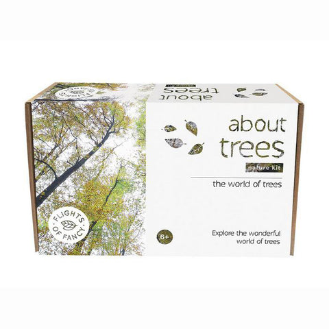 about trees nature kit, packaged