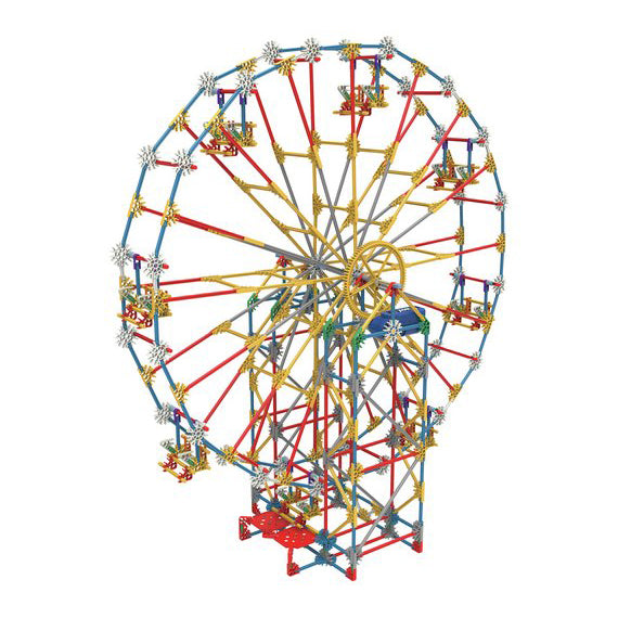 K'nex  3-in-1 Classic Amusement Park Building Set, ferris wheel