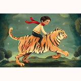 Dream Tiger - Mini Jigsaw Puzzle, finished image