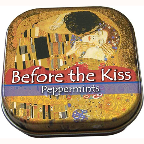 Before The Kiss Mints, in tin