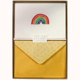Rainbow Boxed Notecards (Set of 10), boxed