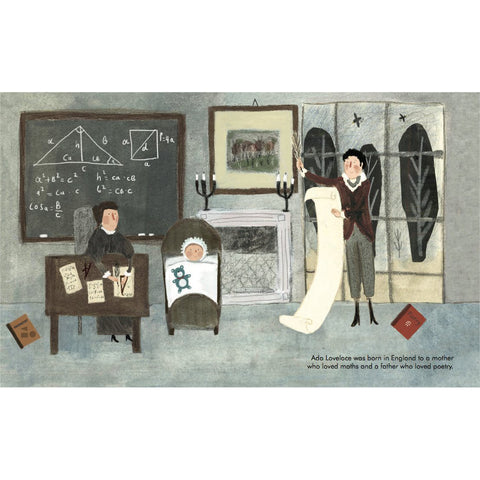 Ada Lovelace - Little People, Big Dreams Picture Book