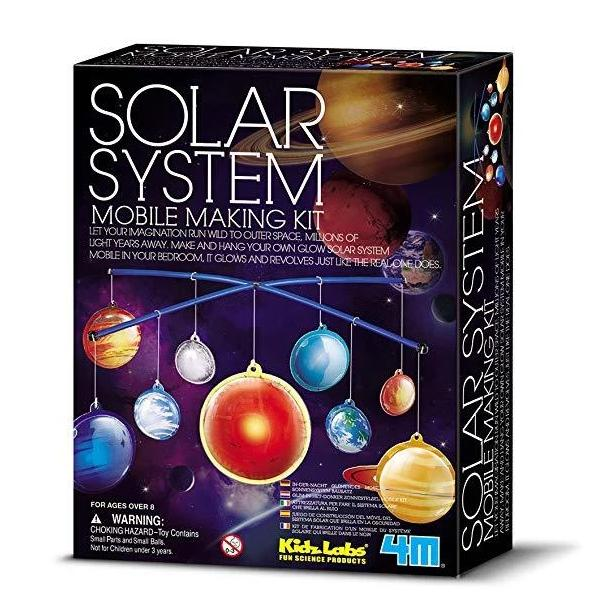 Solar System Mobile Making Kit, in packaging