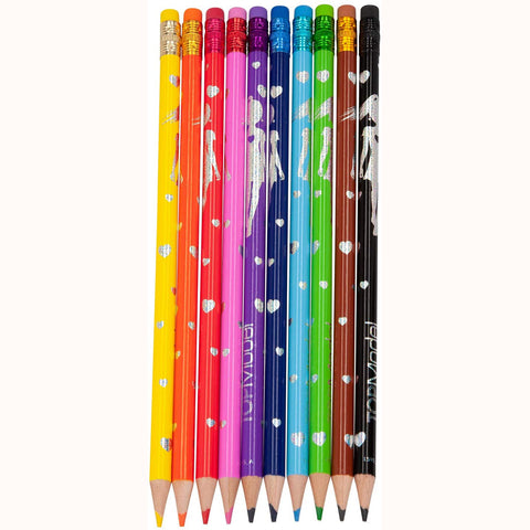 Erasable Colour Pencils by Depesche, out of pack