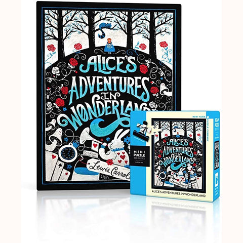 Alice's Adventures in Wonderland Mini Puzzle, finished image and box