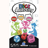 Dice Academy, front view of box