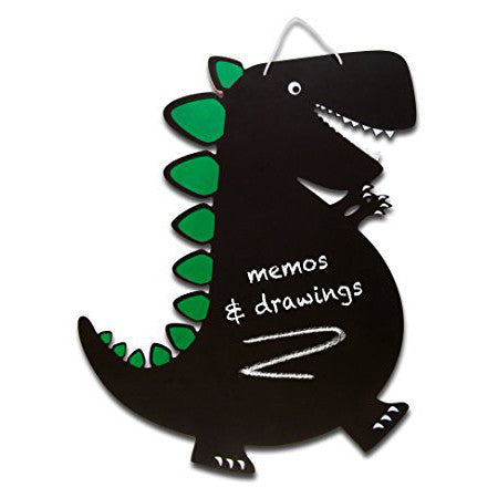Dinosaur Chalkboard, out of packaging