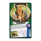 Horses and Ponies -Top Trumps Game, Suffolk Punch card