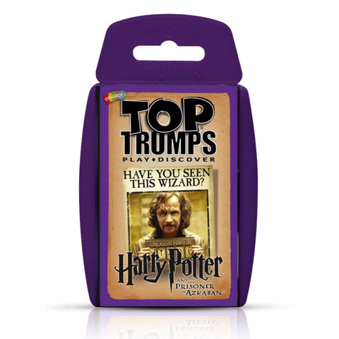 Harry Potter and the Prisoner of Azkaban - Top Trumps Card Game, in packaging