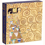 Klimt Expectation Puzzle, slanted front of box