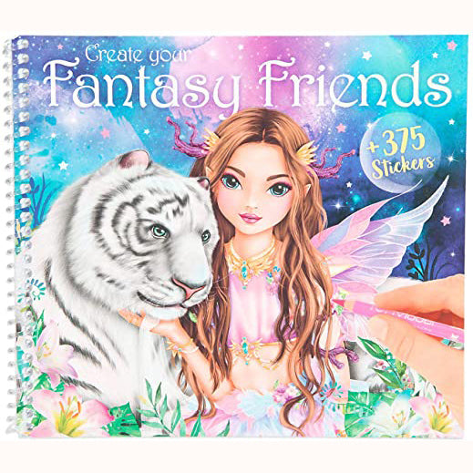 Create Your Fantasy Friend Sticker Activity Book, front cover