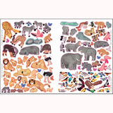 Let's Explore: Safari - Lonely Planet Kids, page of stickers