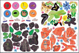 Let's Explore: Jungle - Lonely Planet Kids, sticker page