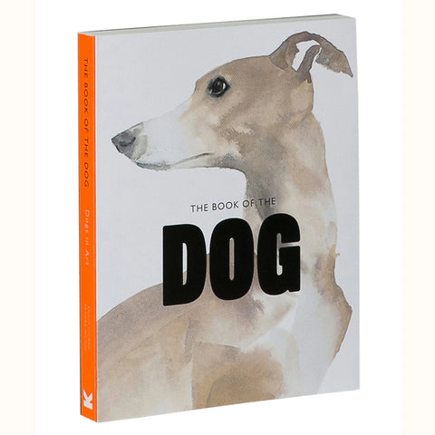 The Book Of The Dog - Dogs in Art, front cover at angle