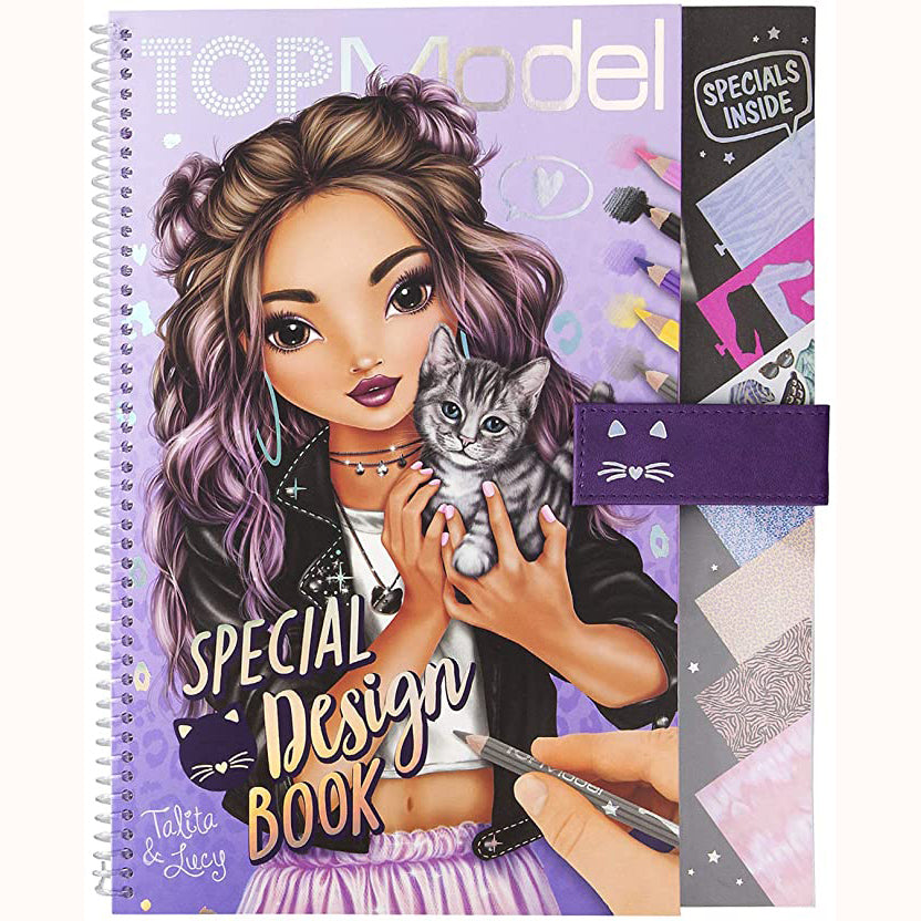 Top Model Special Design Book, front cover