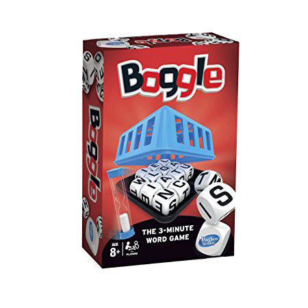 Boggle, boxed