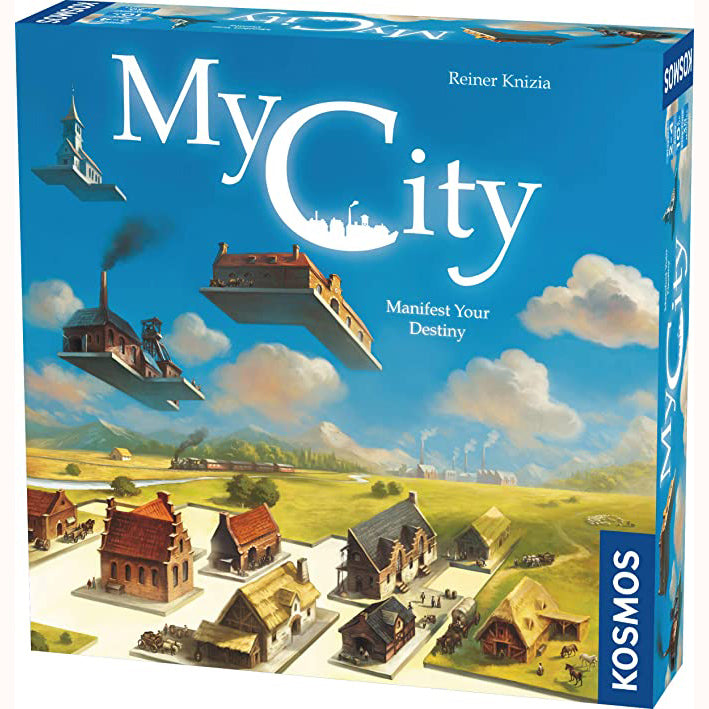 My City, front of box