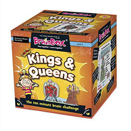 Brain Box - Kings & Queens, boxed