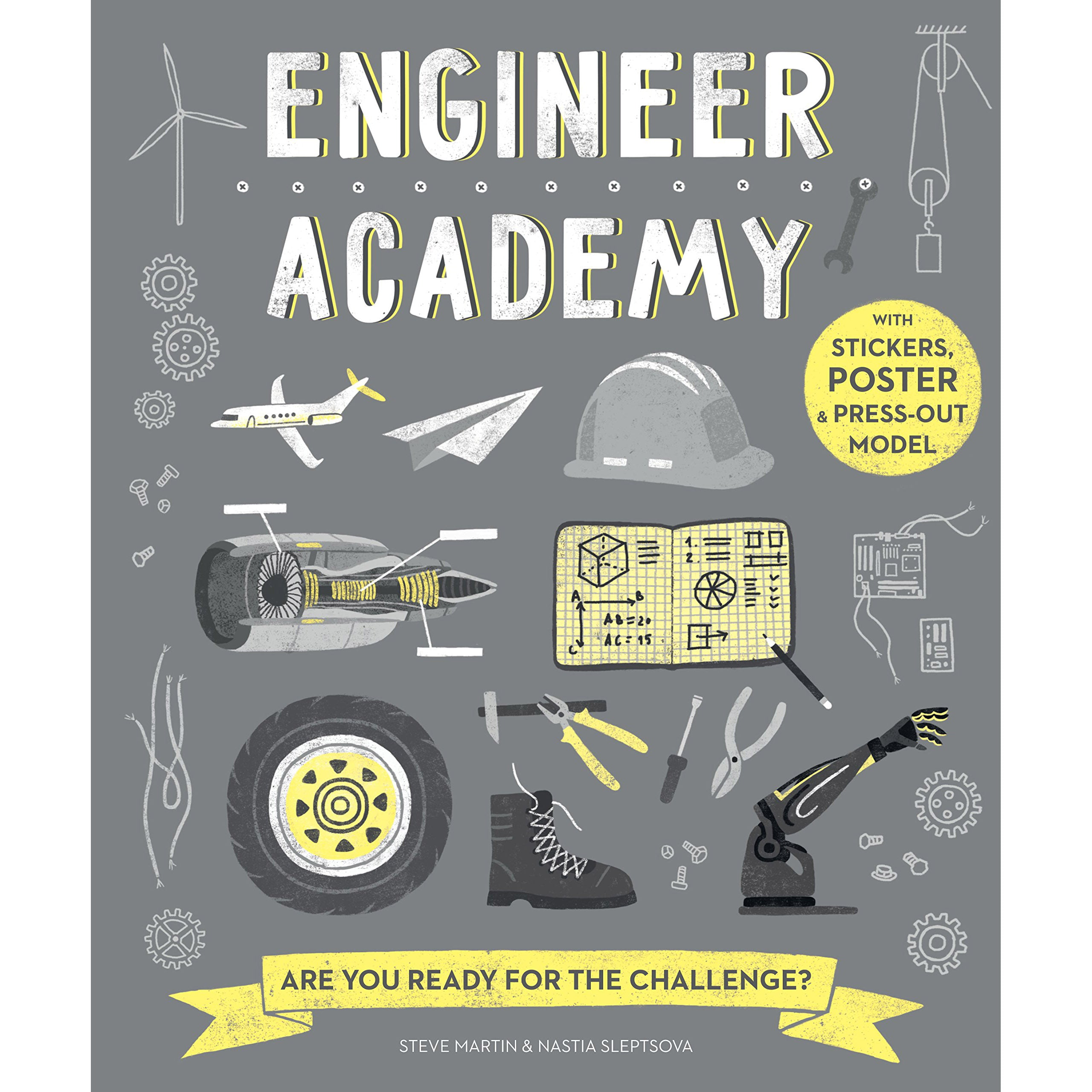 Engineer academy front cover