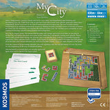My City, back of box