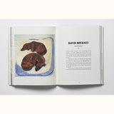 The Book Of The Dog - Dogs in Art, Hockney spread