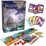 Dragonrealm - a Game of Goblins & Gold, box and contents