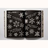 Hello Nature - Draw , Colour, Make and Grow, sample page snowflakes