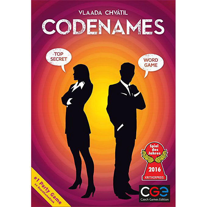 Codenames, front of box