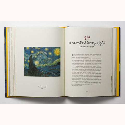 Vincent's Starry Night and other stories, van gogh page