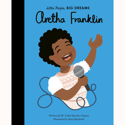 Aretha Franklin, front cover