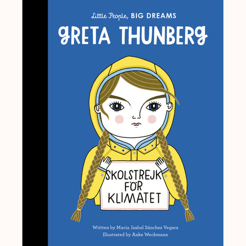 Greta Thunberg , front cover