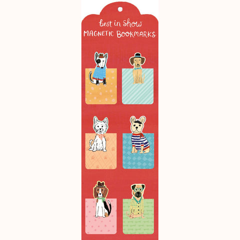 best in show magnetic bookmarks, in packaging