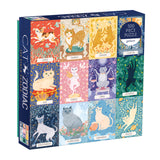 Cat Zodiac Puzzle, front of box