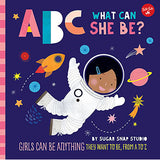 ABC What Can She Be? front cover
