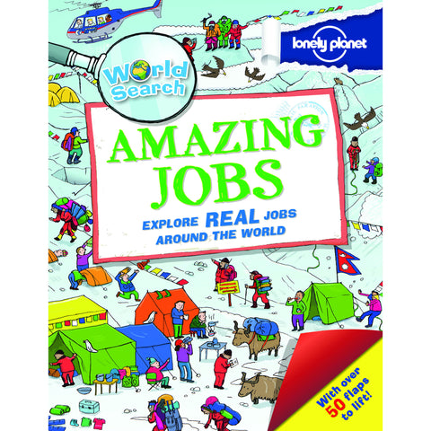 Amazing Jobs - Lonely Planet Lift The Flap Book