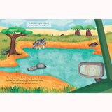 Let's Explore: Safari - Lonely Planet Kids, detail of page