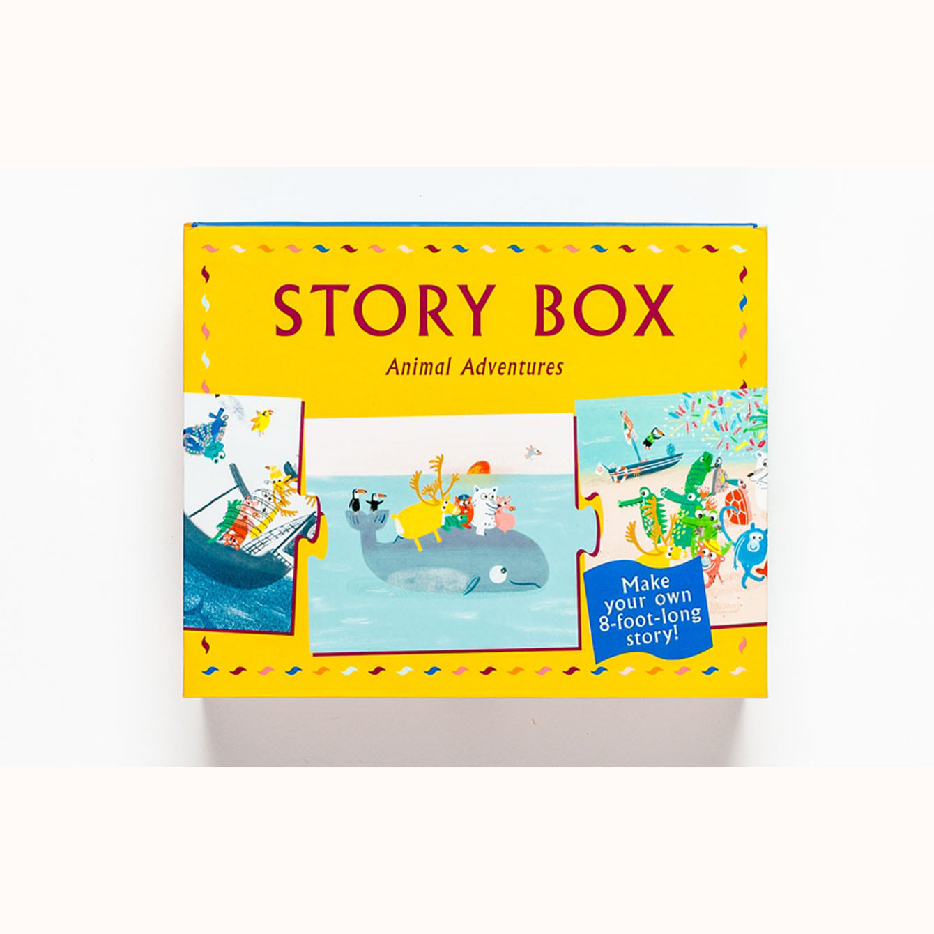 Story Box - Animal Adventures, front of box
