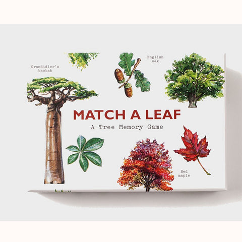 Match A Leaf - A Tree Memory Game, boxed