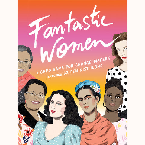 Fantastic Women - Feminist Icons Card Game, front of box
