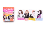 Fantastic Women - Feminist Icons Card Game, box and sample cards