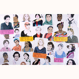 Fantastic Women - Feminist Icons Card Game, variety of sample cards
