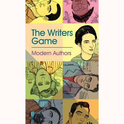 The Writers Game - Modern Authors, front of box