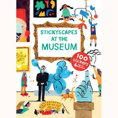 Stickyscapes at the Museum, front cover