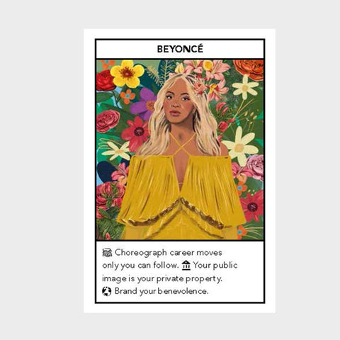 Success Oracles, sample card Beyonce