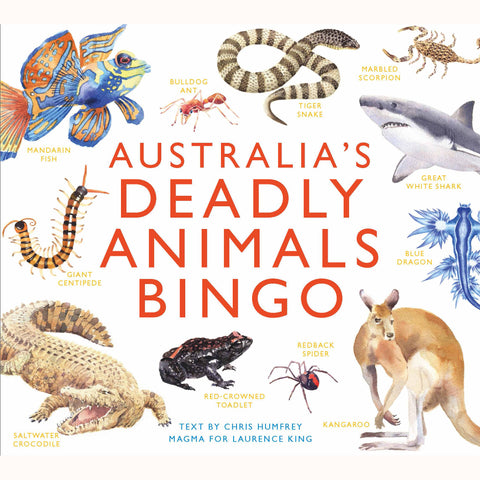 Australia's Deadly animals, front of box