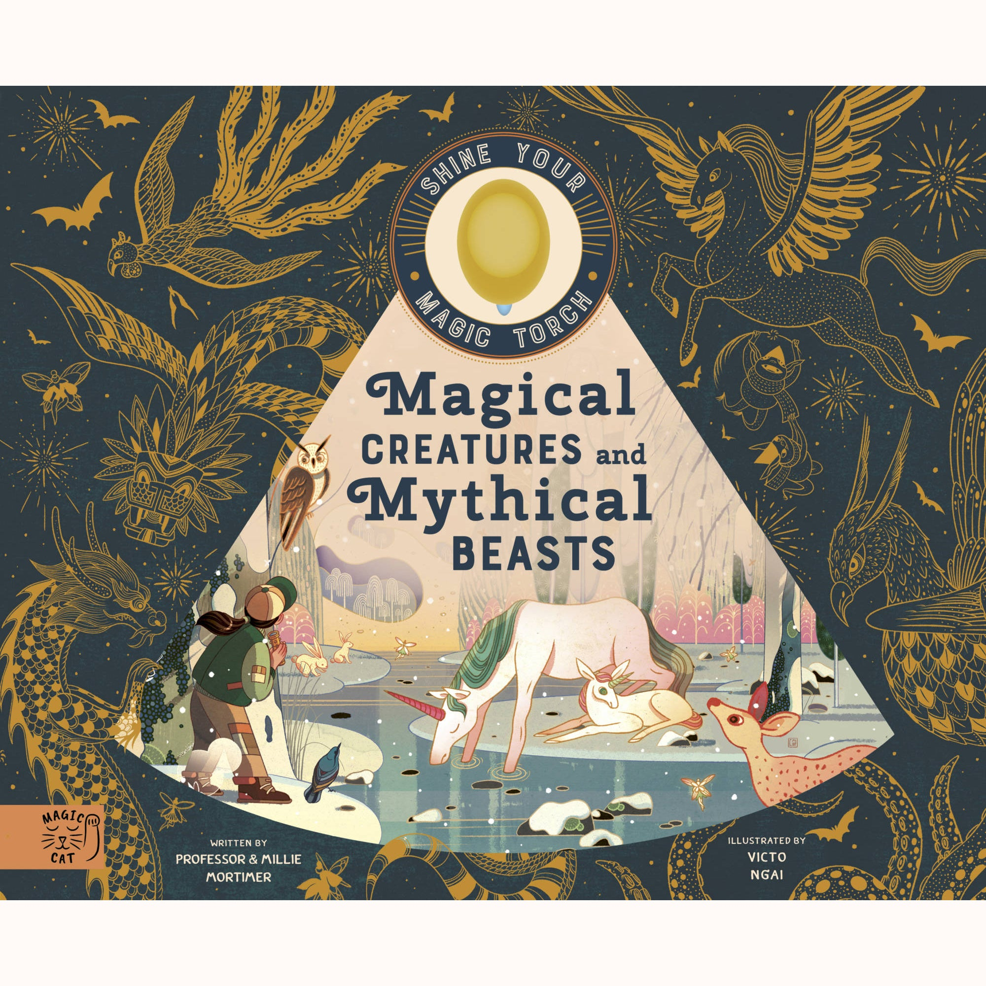 Magical Creatures & Mythical Beasts book front cover