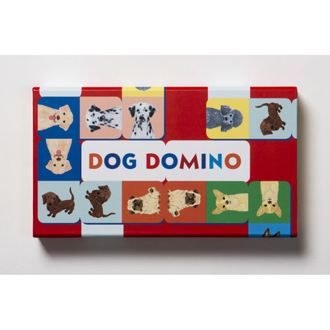 Dog domino, front of box
