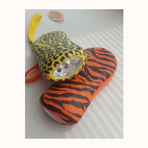 Jungle Torches (2 varieties tiger and leopard shown)