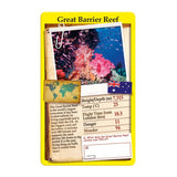 Wonders of the World, sample card Great Barrier Reef